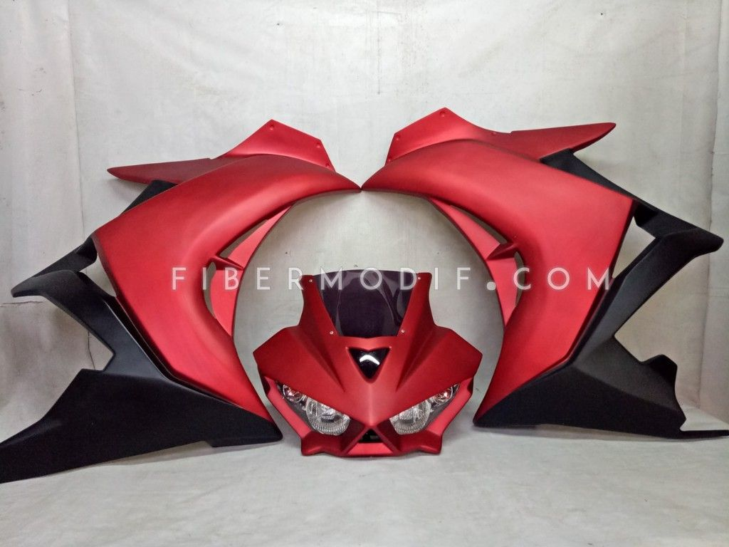 Fairing R25 V1 Red Black Doff