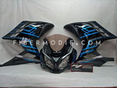 Fairing Ninja 250 FI Aqua Limited Edition