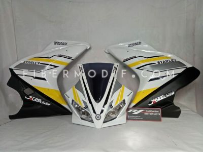 Fairing R125 White Yellow Black Doff