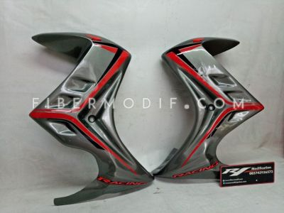 Half Fairing New Mega Pro Monoshock Gloss Gray