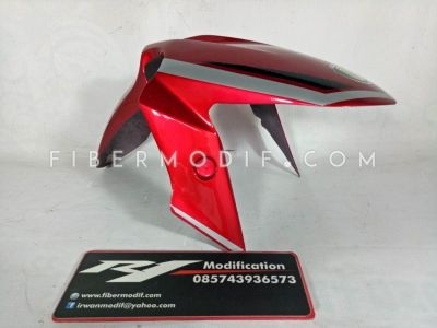 Slebor Depan Ninja 250 untuk Universal Motor Sport Red Black Grey Gloss Monster