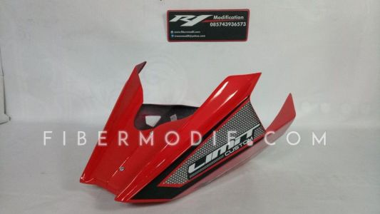Undercowl CB150R Facelift Limit Custom Red Gloss Black Art