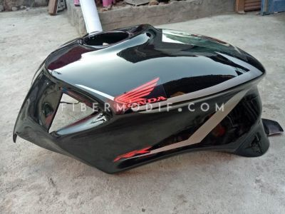 Cover Tangki Tiger Revo Black Gloss AION
