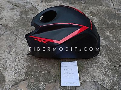 Cover Tangki CB150R 2015 Black Matte - Red Lis