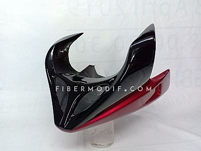 Undercowl Byson Karburator Black Red Gloss