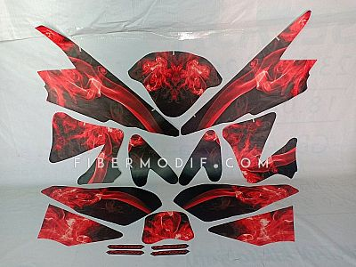Decal Old Vixion The Red Smoke Art