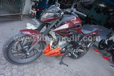 Tutup mesin/Undercowling All New CB150R