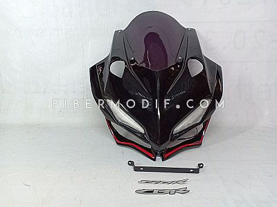Cover Headlamp CBR150R K45N model CBR250RR - Black Glossy Premium