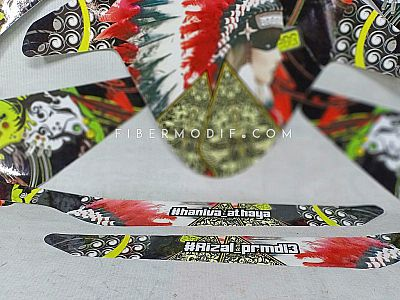 Decal All New CB150R - Indian x Wayang #Rizal_prmdi3 #haniva_athaya
